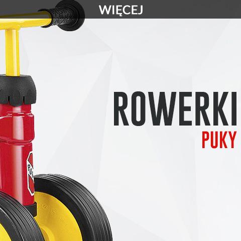 Rowerki Puky